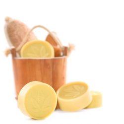 Handgemachte Hanföl-Seife